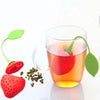 Strawberry Silicone Green Tea Infuser