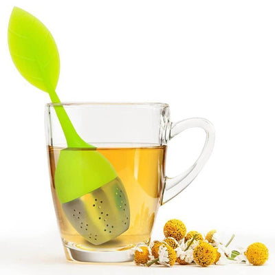 Silicone Green Tea Infuser with Stainless Steel Ball