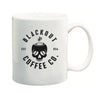 Blackout Coffee Logo White Mug