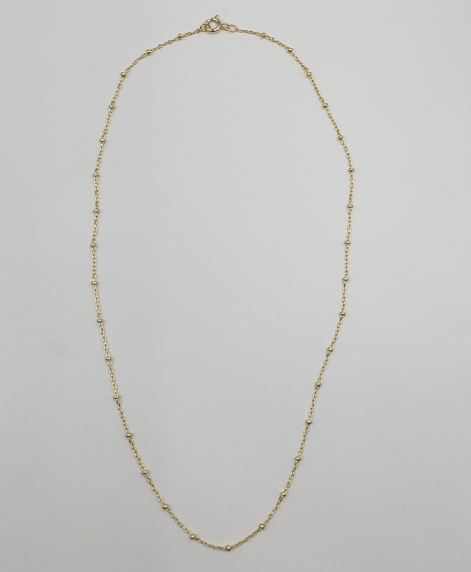 Gold Filled Beaded Chain