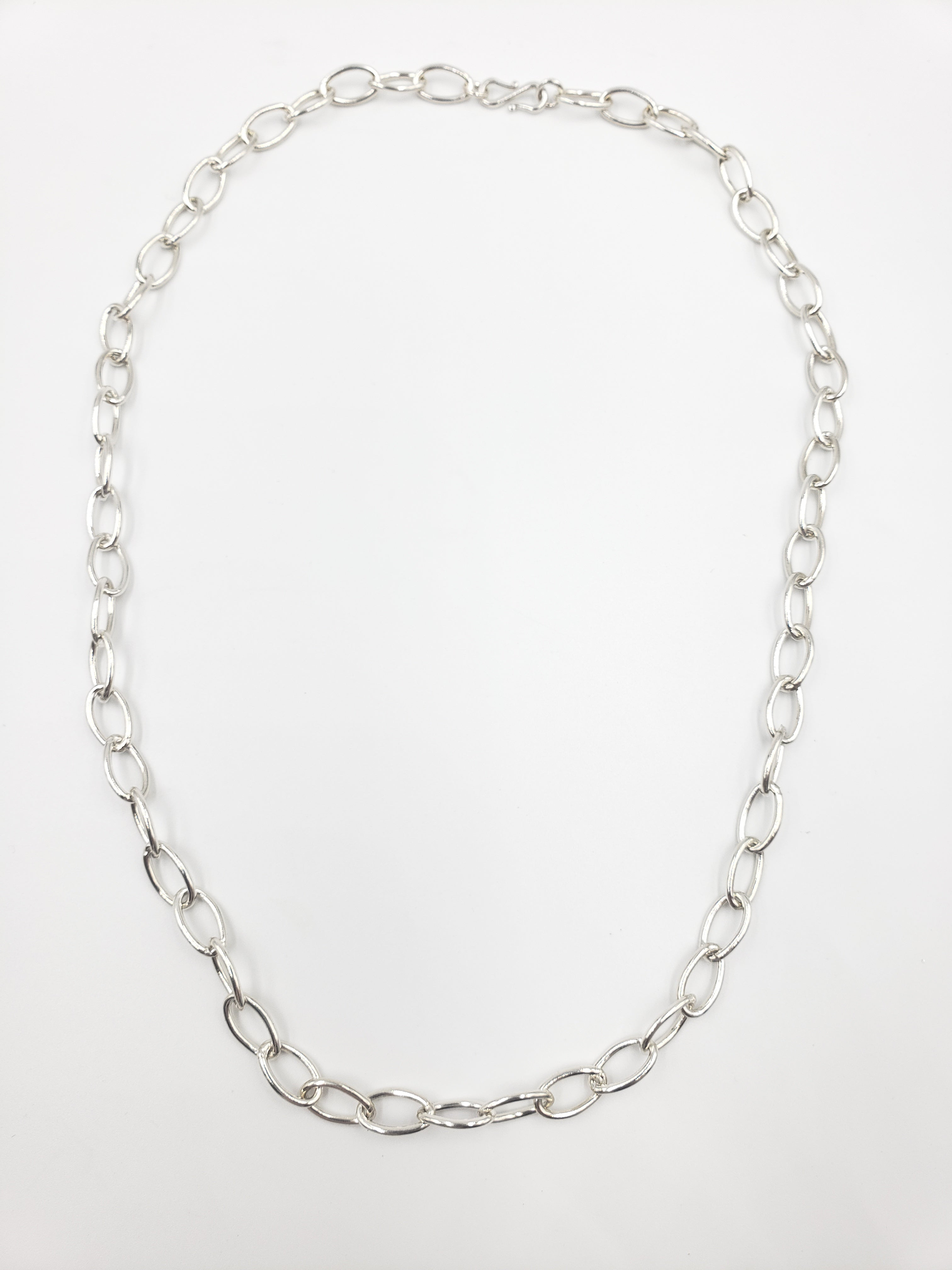 "Chubby 18"" Oval Chain Necklace"