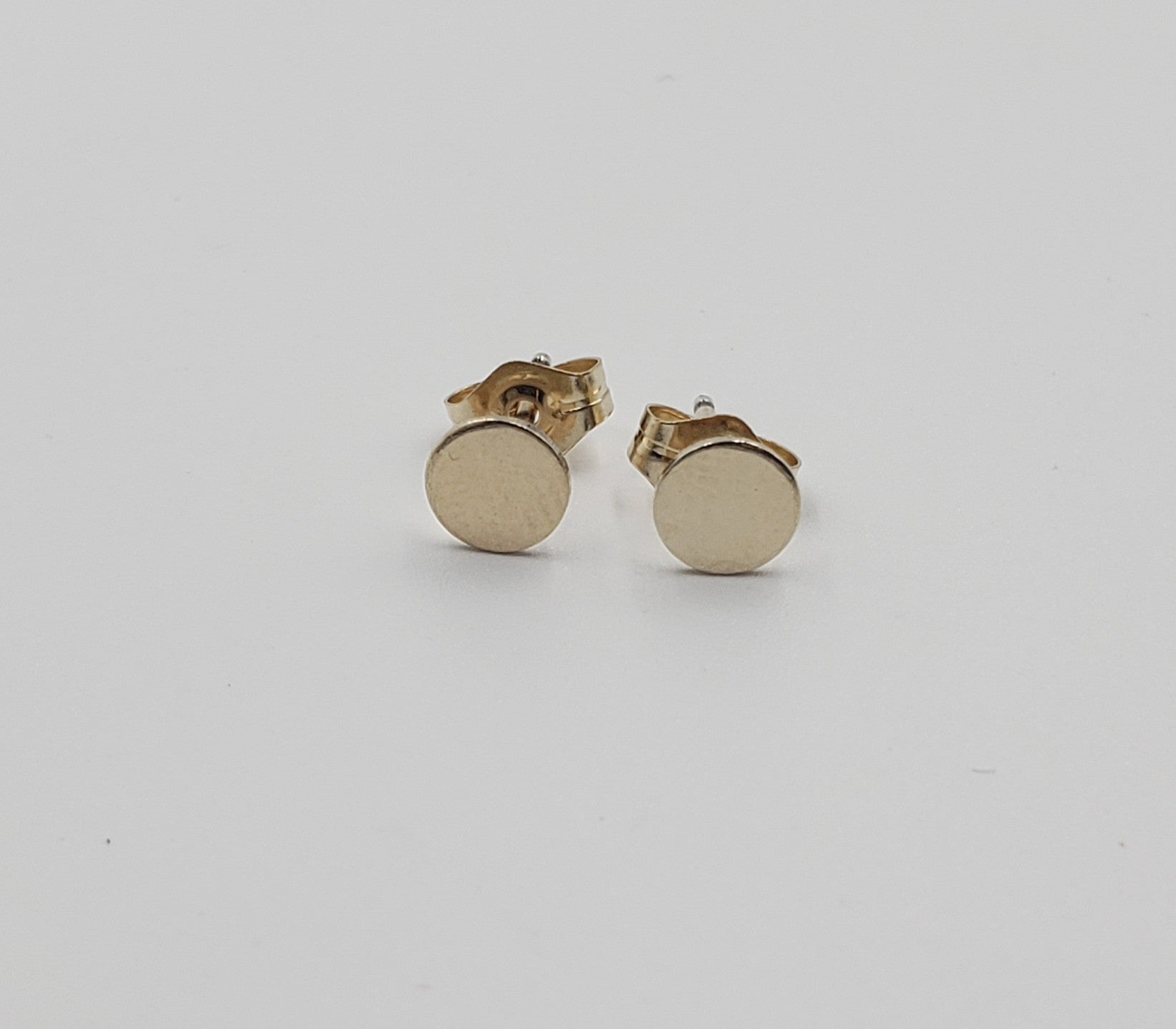 Gold Tiny Dot Studs