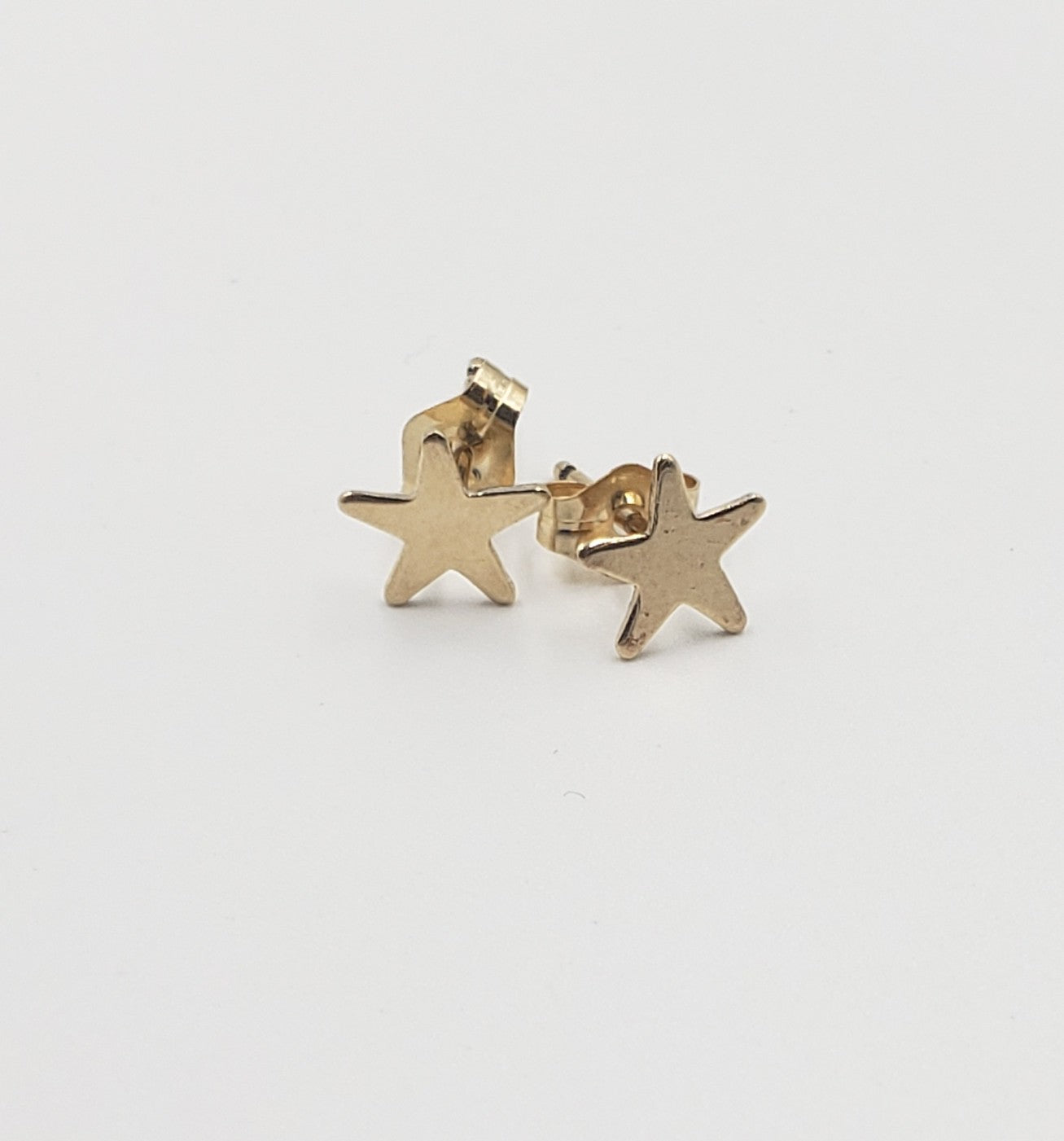 Gold Filled Star Studs
