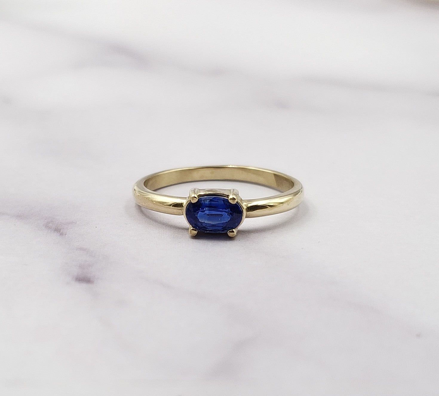 Kyanite Gold Cora Ring