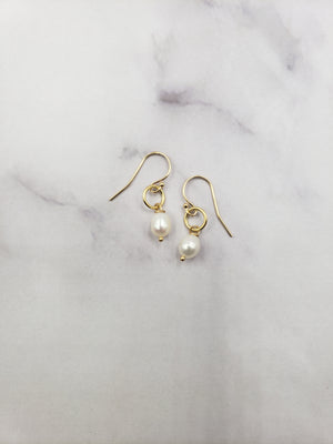 Karma Pearl Earrings