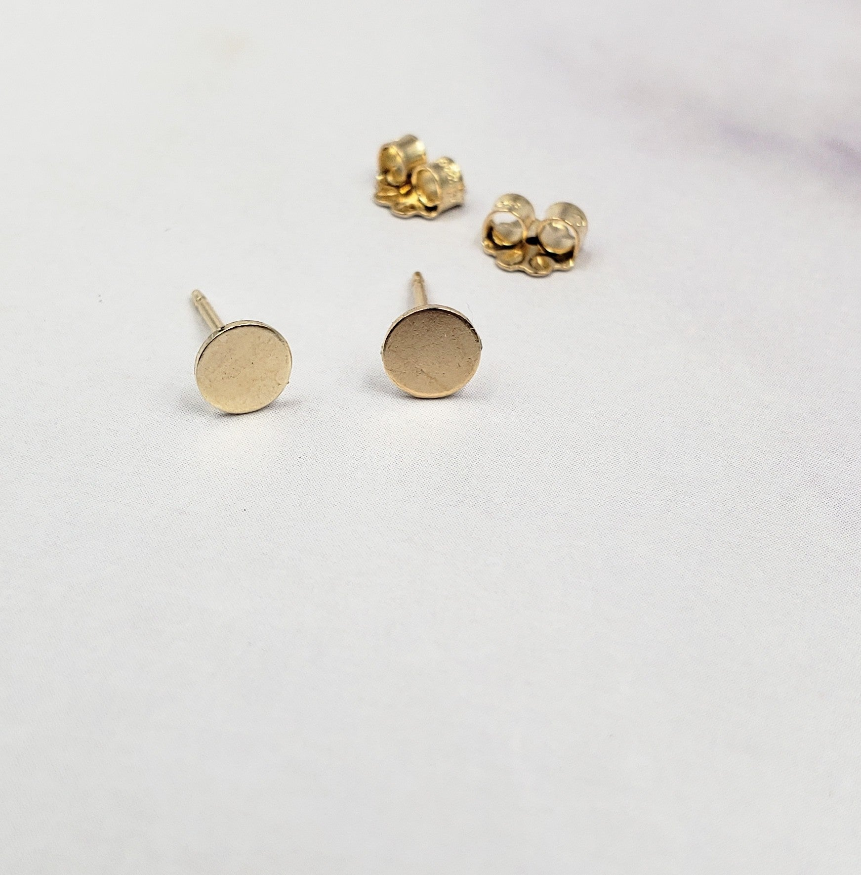 Gold Filled Tiny Dot Studs