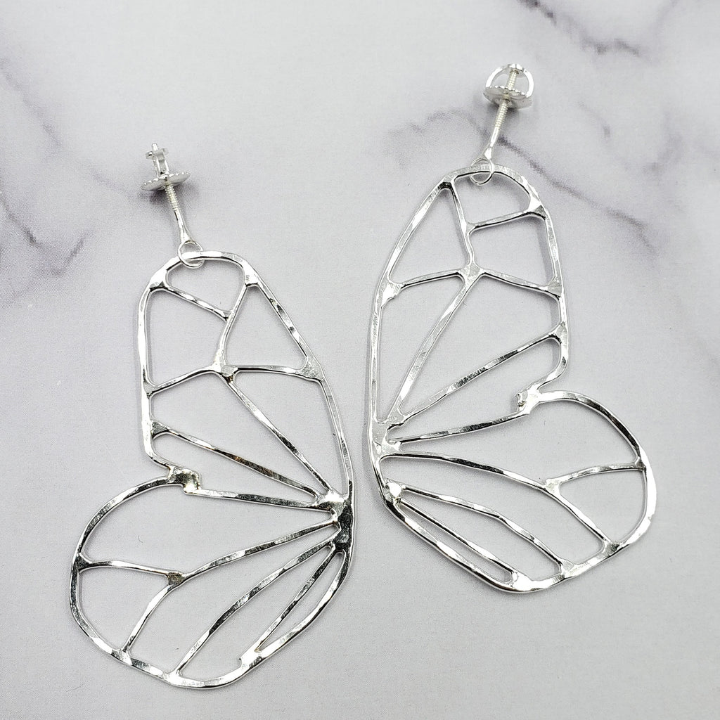 Open Butterfly Wing Studs #1