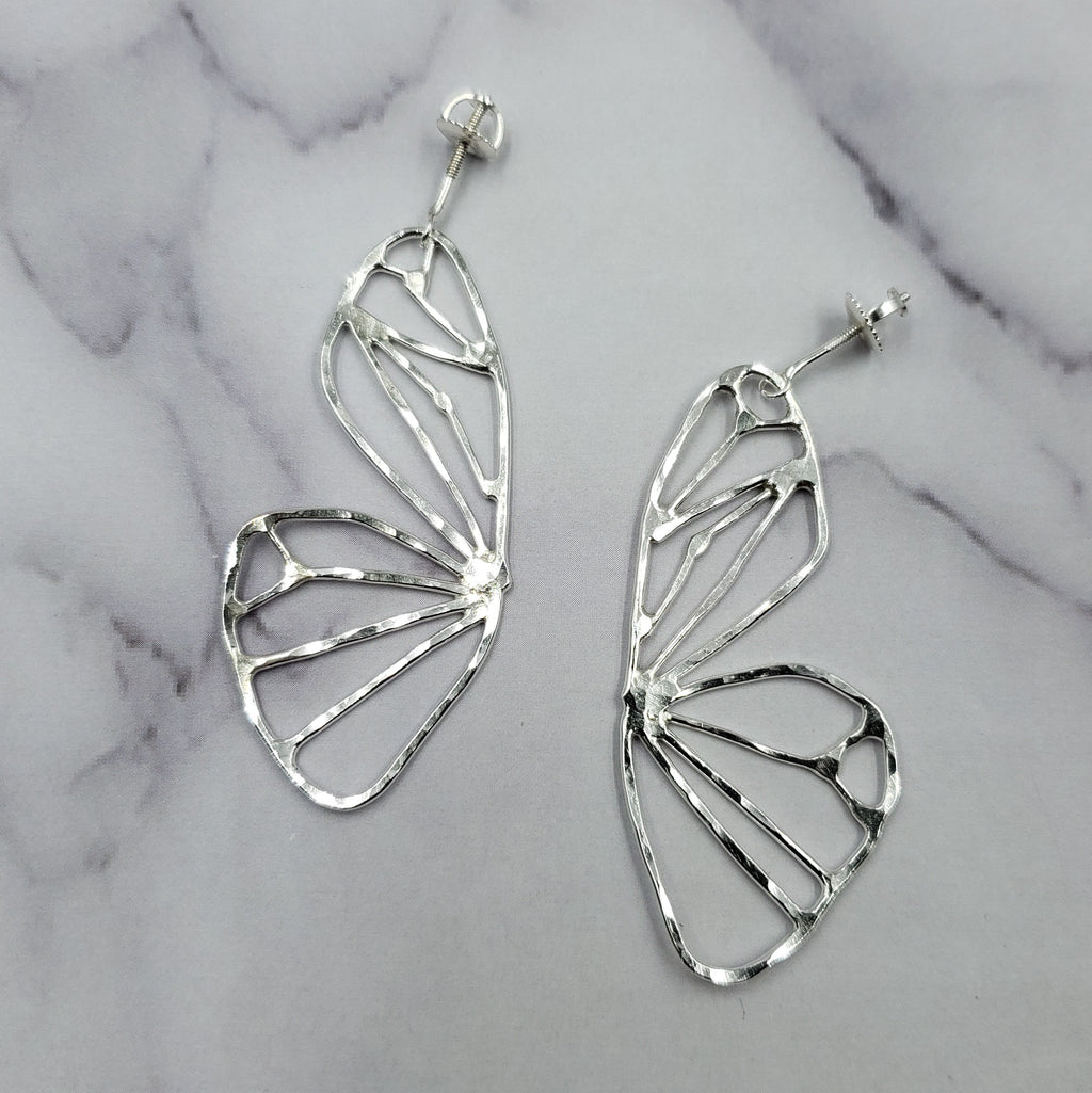 Open Butterfly Wing Studs #2