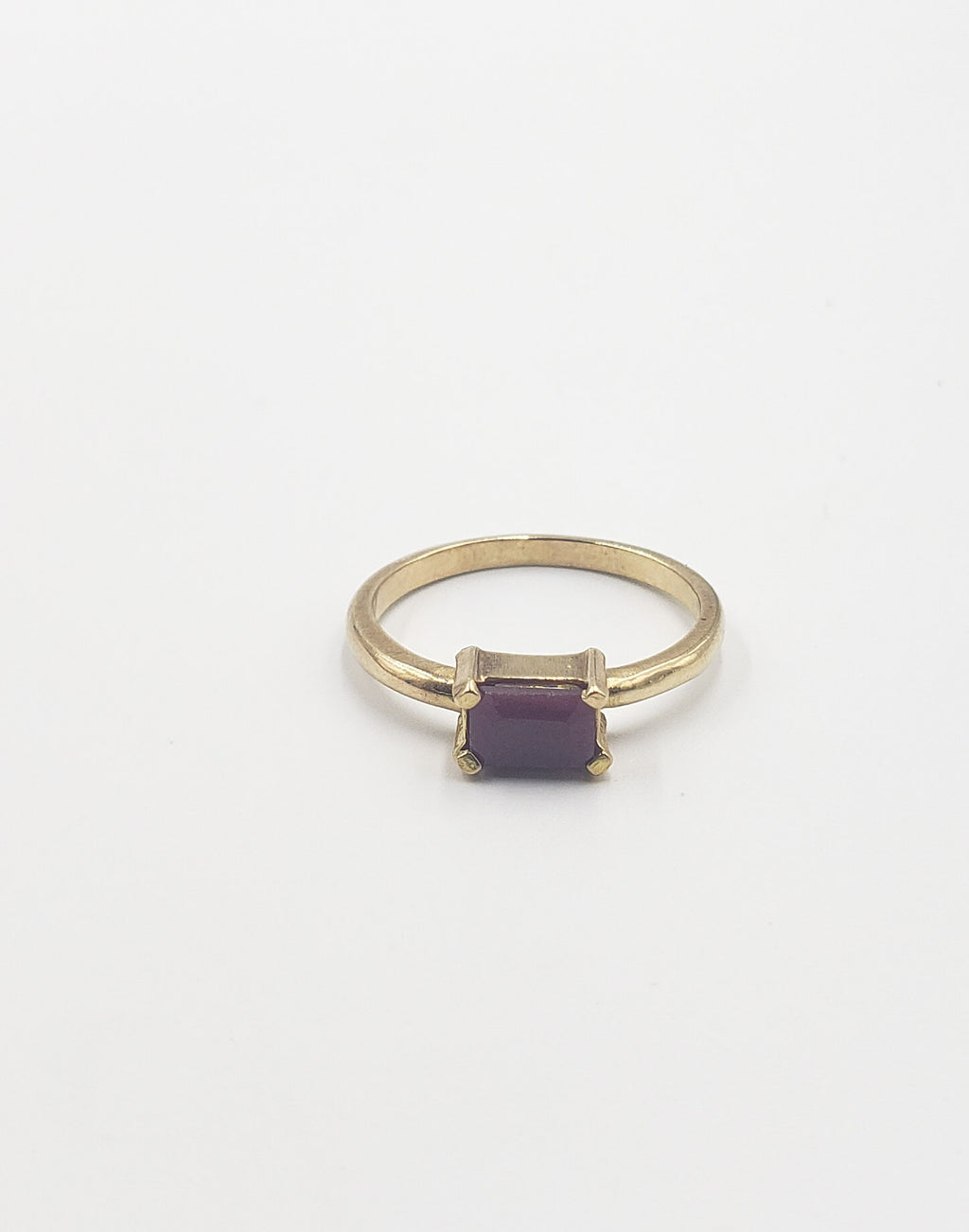 Gold Ruby Emma Ring