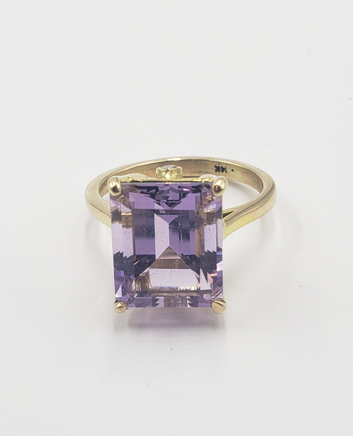 Amethyst & Diamond Cocktail Ring