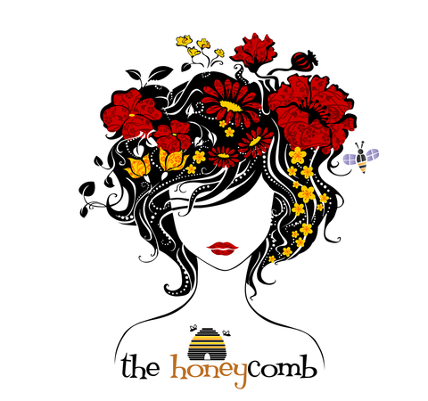 The Honeycomb salon logo image
