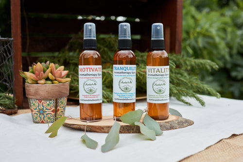 Aromatherapy Sprays| All-Natural | PURE Essential Oils