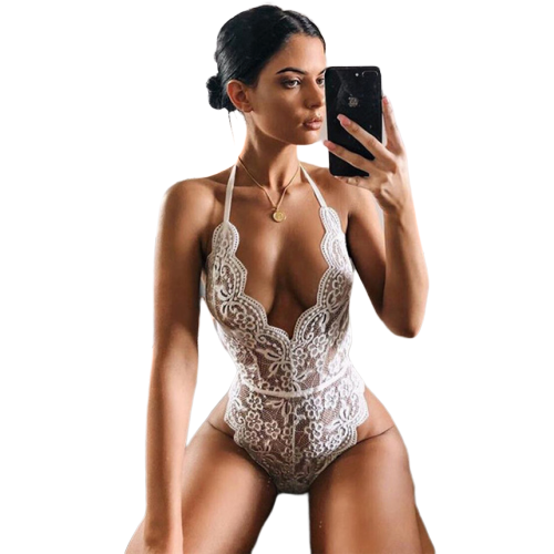 Bodysuit Transparent Lace