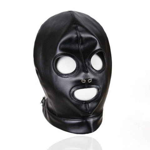 BDSM Mask Black