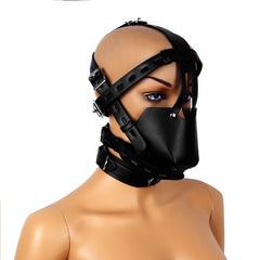 Full Leather Mask Adjustable