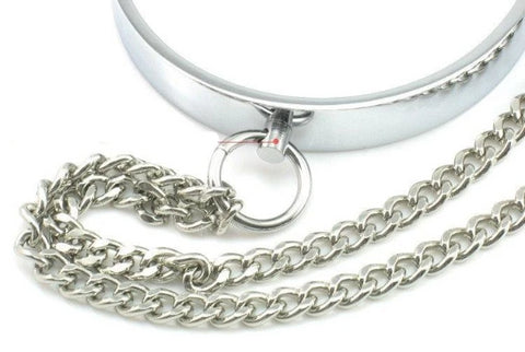 Metal Collar With Nipple Clamps