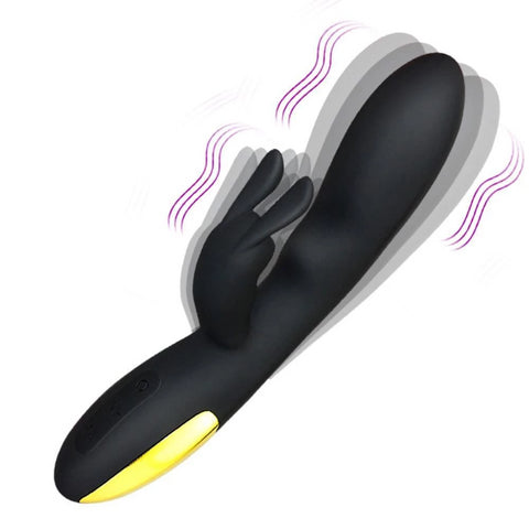 Rabbit Vibrator Black