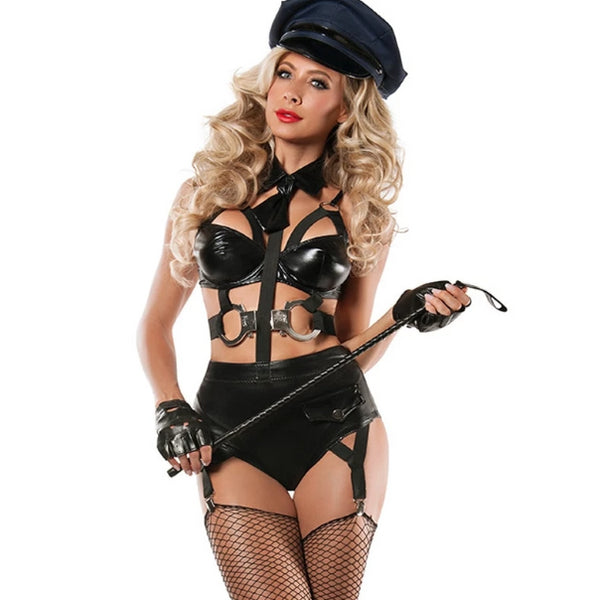 Police Women Costume Black