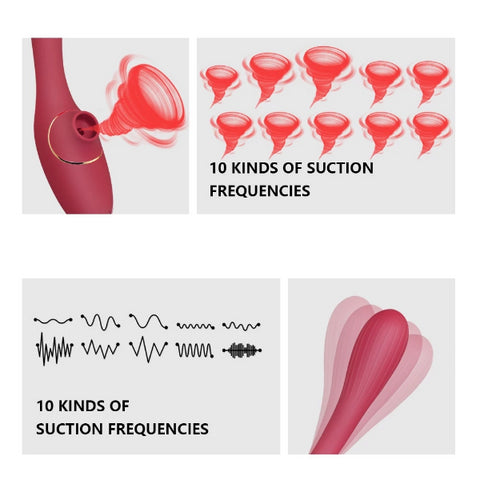 Clit Vibrator With 10 Speeds