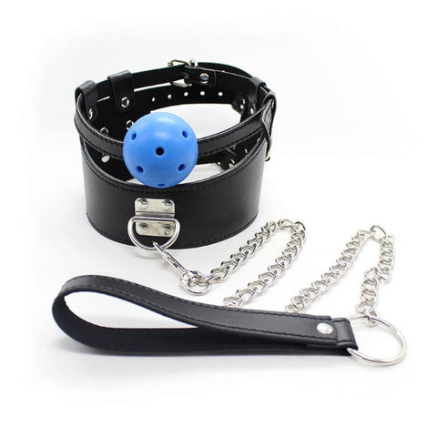 Collar with Ball Gag