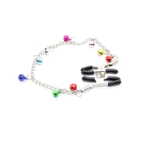 Nipple Clamps With Colored Bells