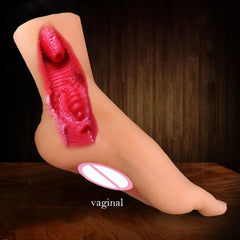Foot Fetish Masturbator With Realistic Skin