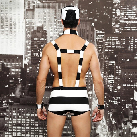 Prisoner Costume For Men