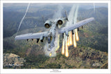 A-10 Warthog by Mark Karvon