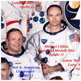 Neil Armstrong and Mike Collins