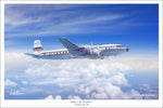 Dougas DC-7B by Mark Karvon