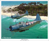SBD Dauntless by Mark Karvon