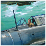 SBD Dauntless Pilot
