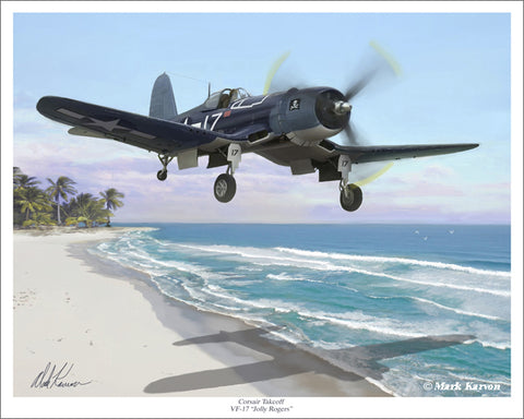 F4U Corsair VF-17 Mark Karvon