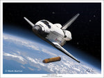 Space Shuttle by Mark Karvon