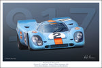 Porsche 917 Daytona 24 Hours Start