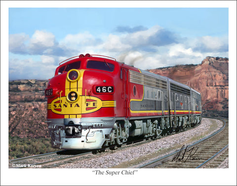 Super Chief by Mark Karvon