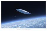 Unidentified Flying Object by Mark Karvon