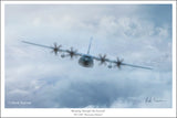 WC-130J by Mark Karvon