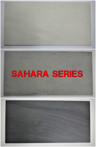 "Image of Sahara Porcelain Tile (Ivory) 12x24"" - $1.99 SQ FT"