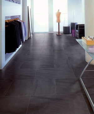 Sahara Porcelain Tile (Black) 24x24