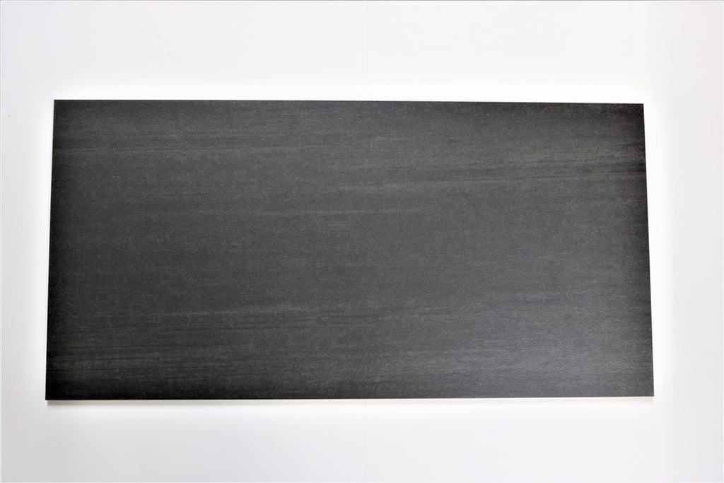"Woodgrain Porcelain Tile (Black) 12x24"" - $1.99 SQ FT"