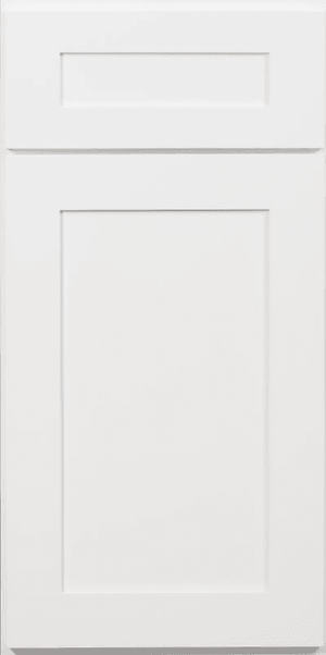 Arctic White Shaker Sample Door