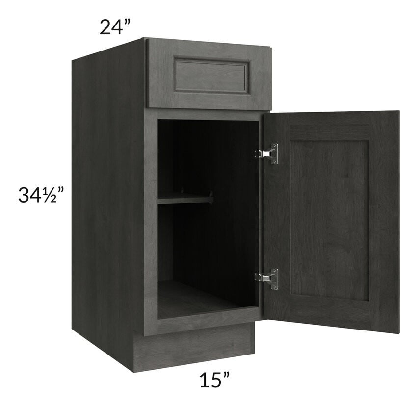 "Providence Natural Grey 15"" Base Cabinet"