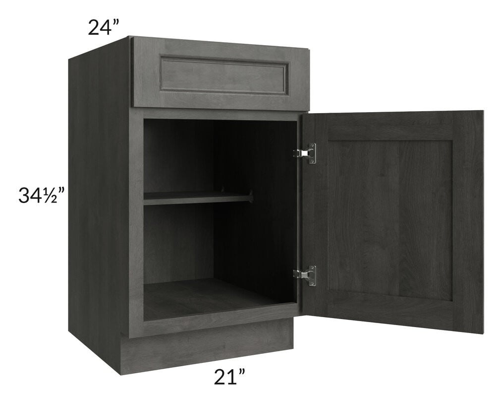 "Providence Natural Grey 21"" Base Cabinet"
