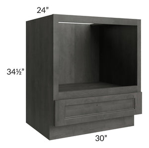 "Providence Natural Grey 30"" Microwave Base Cabinet"