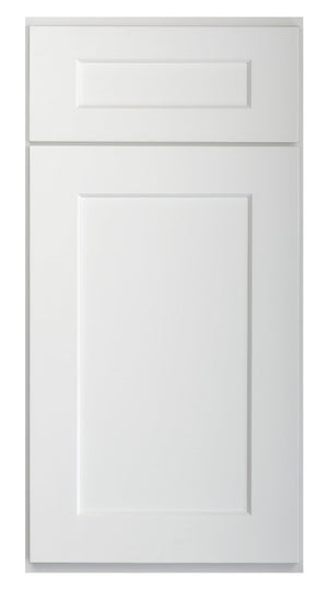 Brilliant White Shaker Sample Door