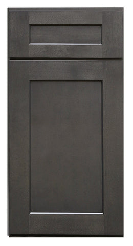 Charcoal Grey Shaker Sample Door