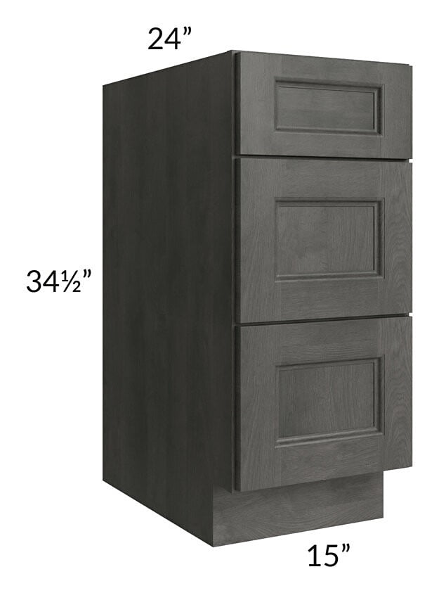 "Providence Natural Grey 15"" Drawer Base Cabinet"