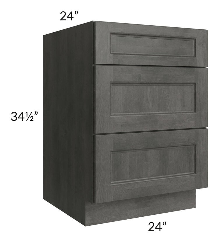 "Providence Natural Grey 24"" Drawer Base Cabinet"