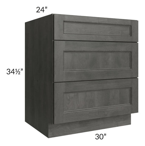 "Providence Natural Grey 30"" Drawer Base Cabinet"